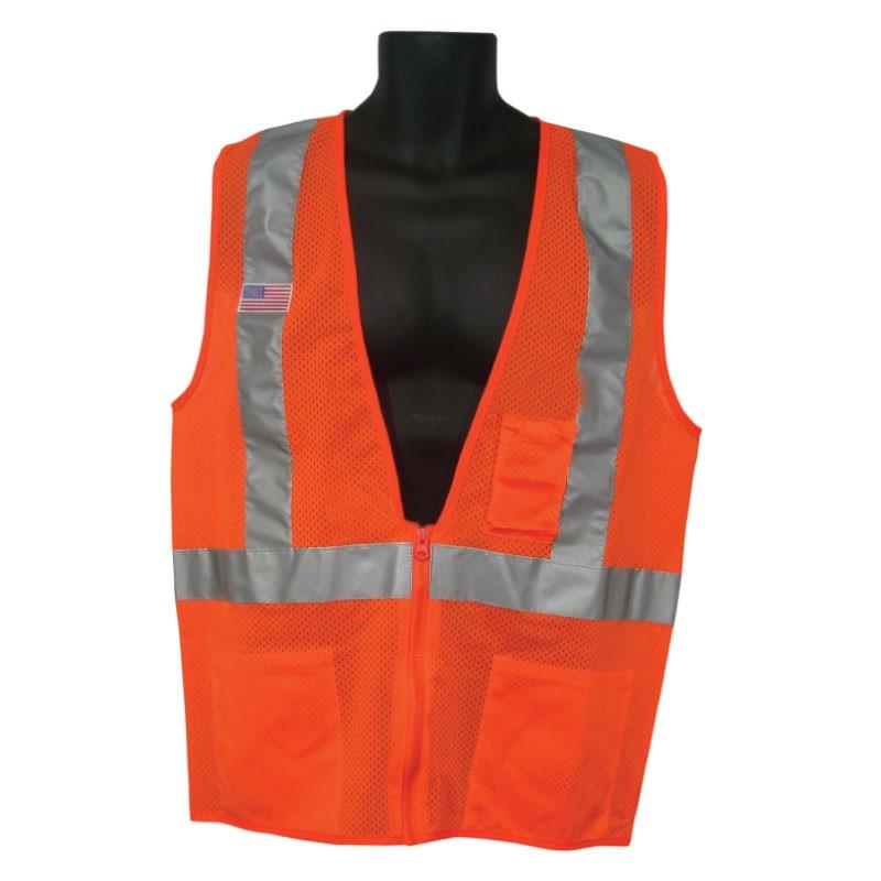 Cooling Vest (Zipper Front & Concealable) - Cool Packs - DQE |Cool Hazmat Vest