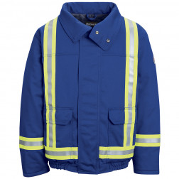 Flame Resistant Lined Bomber Jacket