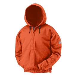 Flame Resistant Zipper Front Cotton Sweatshirt