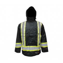 Professional Insulated Journeyman 300D Rip-Stop FR Jacket