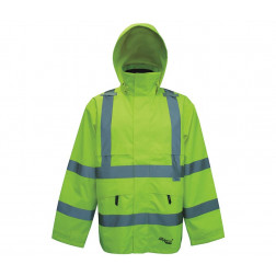 Professional 300D Trilobal Safety Jacket with Hood