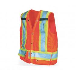 Professional 300D Trilobal Rip Stop Surveyor Safety Vest