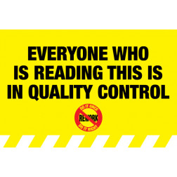 RE-WORK - Quality Control