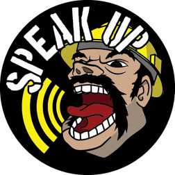 Speak UP Decal