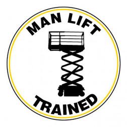 Man Lift / Trained