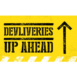 Deliveries Up Ahead