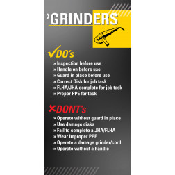 Do's and Don'ts - Grinders