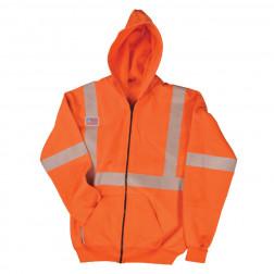 Class III FR Hooded Zip-Up Sweatshirt
