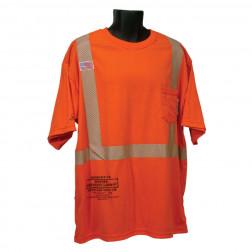 Class II FR Short Sleeve T-Shirt w/ Pocket