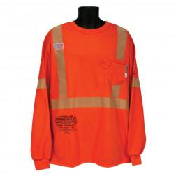 Class III FR Short Long T-Shirt with Pocket