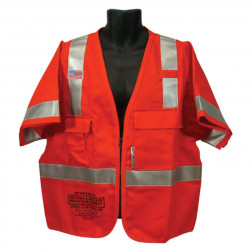 Class III FR Hotwork & Electrical Vest - 7 oz.