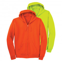 50/50 zip-up Hooded sweatshirt