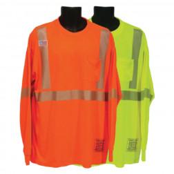 Longsleeve ultra cool mesh t-shirt with segmented taping