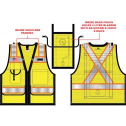 10 Pocket Hydration Vest