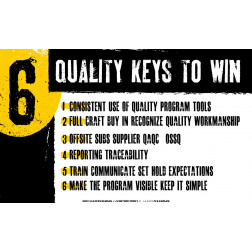 6 Quality Keys To Win