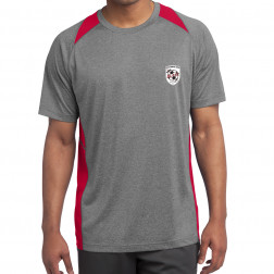 Heather Colorblock Contender Tee