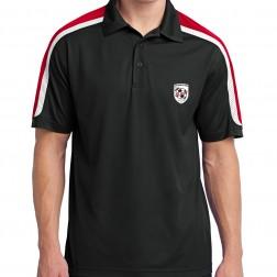 Tricolor Shoulder Micropique Sport-Wick Polo