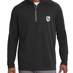 Sport-Wick Textured 1/4-Zip Pullover