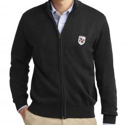 Value Full-Zip Mock Neck Sweater
