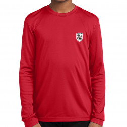Youth Long Sleeve PosiCharge Competitor Tee