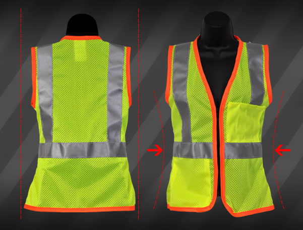 ladies safety vests