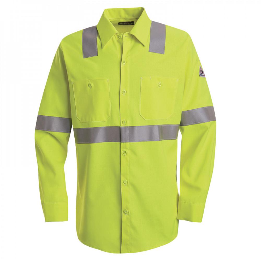 722a67d84fc1 Flame Resistant Hi Visibilty Work Shirt - Class II-III FR Shirts ...