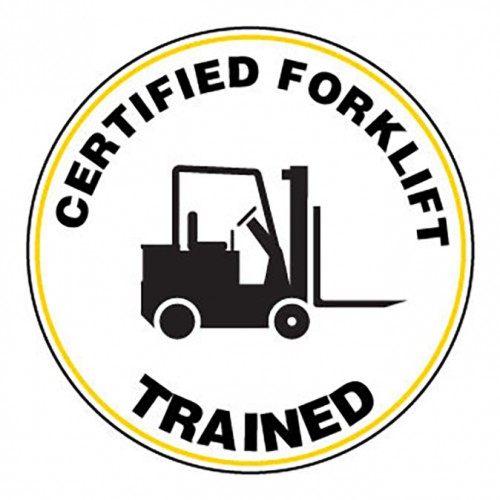 Certified Fork Lift / Trained