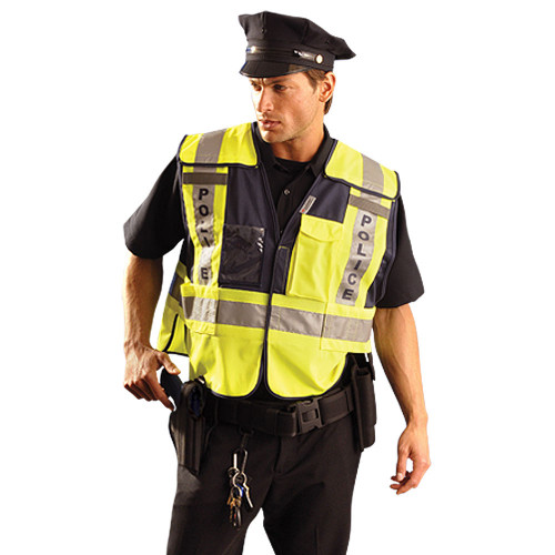Class II Premium Solid Public Safety Deluxe Police Vest