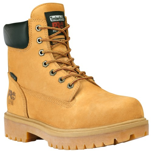 "Men's Timberland PRO® 6"" Steel Toe Work Boots"