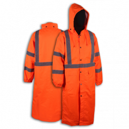 Calf Length Rain Jacket