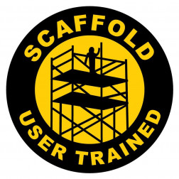 Scaffold User Trained Decal