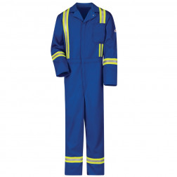 Flame Resistant Clasic Coverall With Reflective Trim