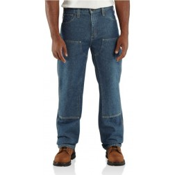 FLAME-RESISTANT UTILITY DENIM DOUBLE-FRONT JEAN - RELAXED FIT