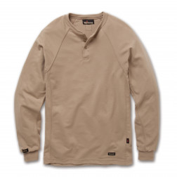 6.7 oz Tecasafe Long Sleeve Henley