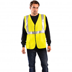 Class II Classic Flame Resistant HRC2 Solid Vest