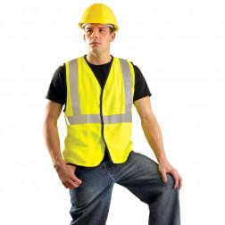 Class II Premium Flame Resistant Solid Vest HRC 1