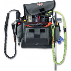 TOPPED TOOL POUCH - LOOP ATTACHMENT