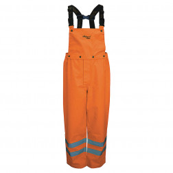 Professional Journeyman 300D Trobal Rip Stop Safety Bib Pants