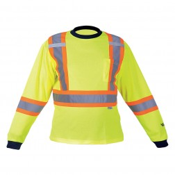 Safety Cotton LinedLong Sleeve Shirt