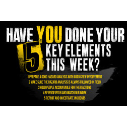 Have you done your 5 key elements?