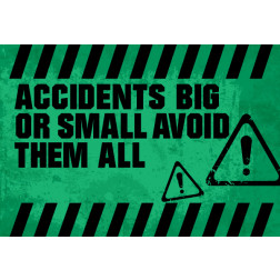 Accidents big or small