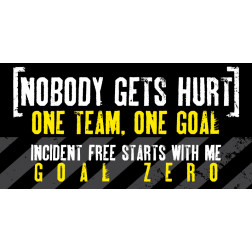 Nobody Gets Hurt / One Team One Goal