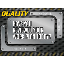 Quality - Work Plan Review