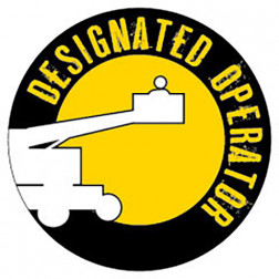Designated Operator / Extend a boom