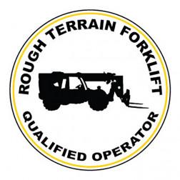 Qualified Operator / Rough Terrain Fork Lift