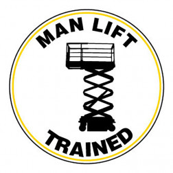 Man Lift / Trained