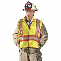 Class II Premium Solid Public Safety Fire Vest