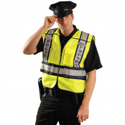Class II Premium Solid Public Safety Police Vest