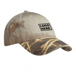 Embroidered Camouflage Cap
