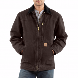 MEN'S SANDSTONE RIDGE COAT/SHERPA-LINED